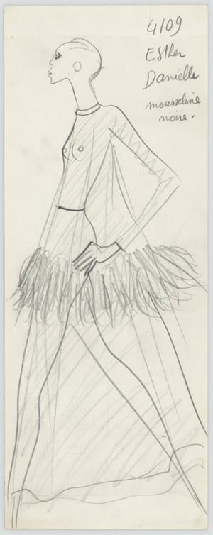 Atelier's specification sheet, autumn-winter 1968.