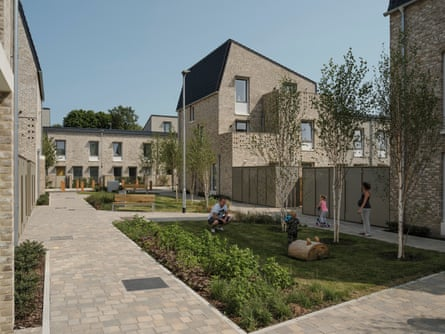 Ditch the developer … Norwich set up its own housebuilding company to create Goldsmith Street homes.