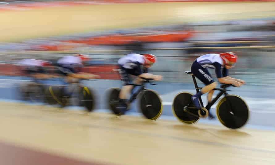 The British team enjoyed huge success in the velodrome at London 2012