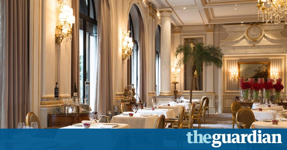 Le Cinq, Paris: restaurant review