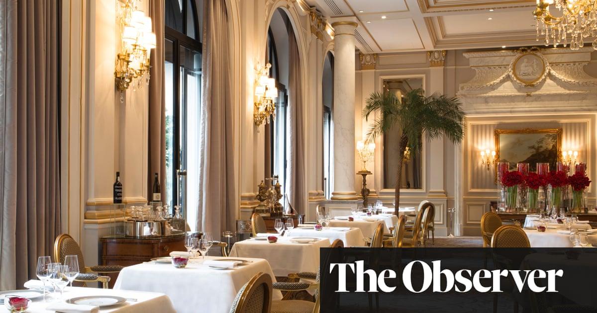 Le Cinq Paris Restaurant Review Food The Guardian