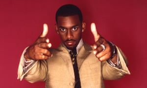 A 2000 publicity shot for Channel 4's The Richard Blackwood Show.