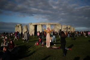 Welcoming the summer solstice at Stonehenge