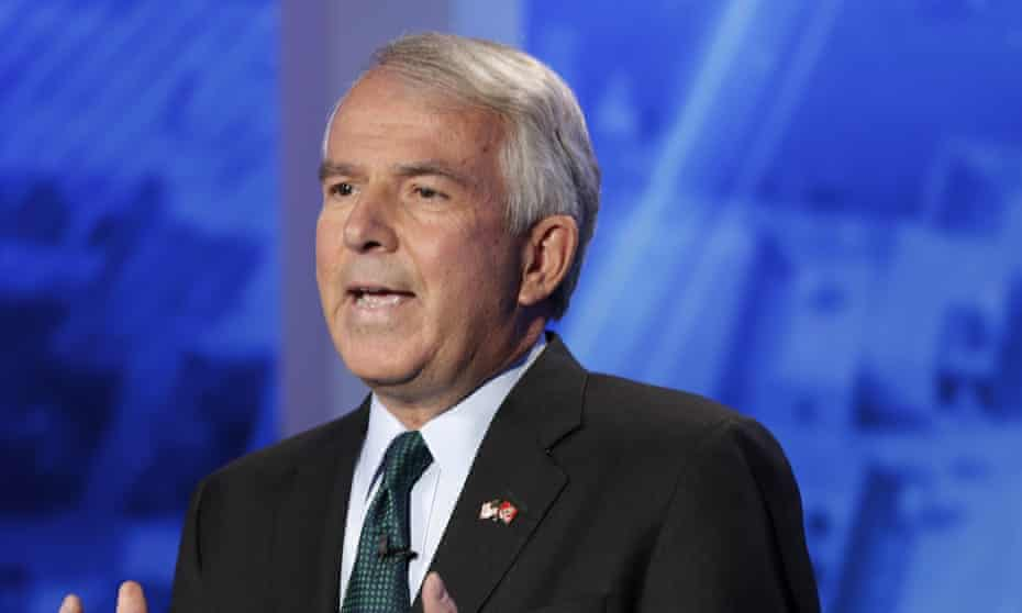 Republican Bob Hugin, a former pharmaceuticals CEO running for US Senate in New Jersey, was the first target of the political action committee.