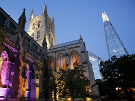 Southwark Cathedral … the only Art Night venue south of the river.