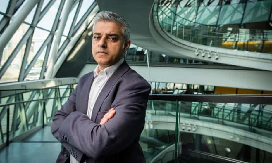 Sadiq Khan in City Hall, a week after his election as mayor of London.