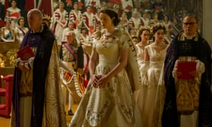 A scene from Stephen Daldry's The Crown the most expensive television drama of all time.