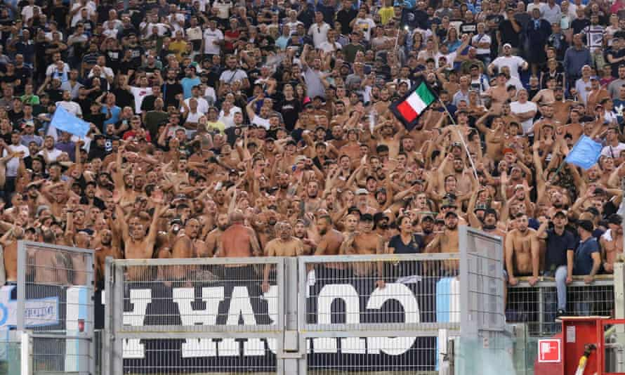 An SS Lazio v Napoli Serie A football match in August