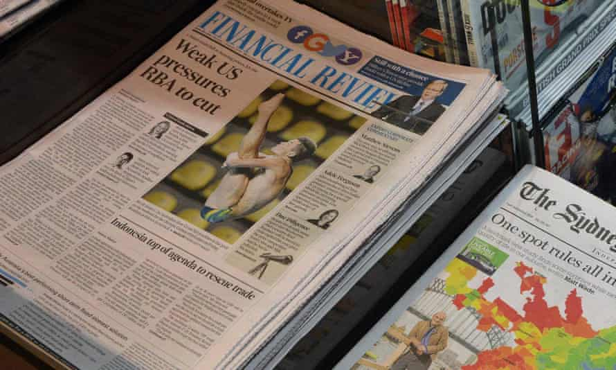 Australian Financial Review being sued by PNG