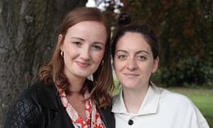Amy Hicks and Michaela Francis