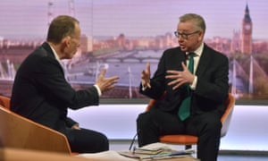 Michael Gove and Andrew Marr