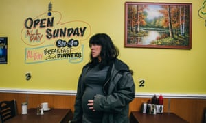 Alice Lowe as a woman whose foetus urges her to kill in horror flick Prevenge.