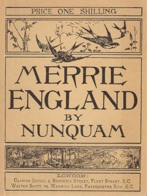 A 1977 print of Merrie England by Nunquam (Robert Blatchford).