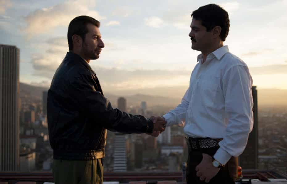 Wheeling and dealing … El Chapo.