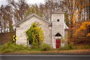 Overgrown church, Preston Hollow, N.Y. 2018