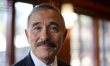 US Ambassador to South Korea Harry Harris and his moustache