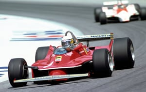 Jody Scheckter in action at the Austrian Grand Prix, where he finished in 13th place.