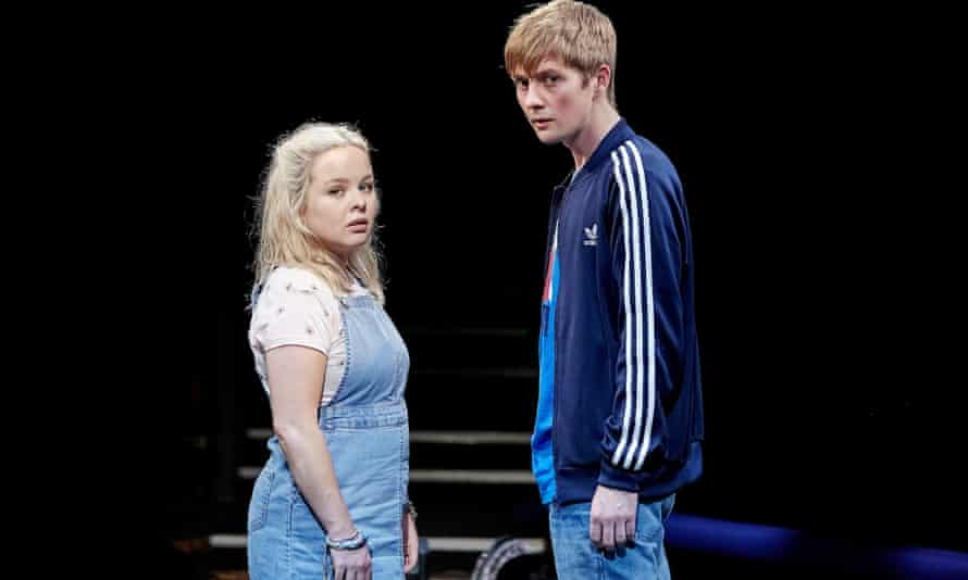 Hovering on the edge of love ... Nicola Coughlan as Jess and Rhys Isaac-Jones as Joe.