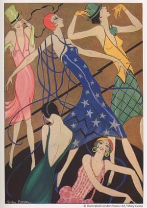 A Fashion Phantasy by illustrator Gordon Conway.