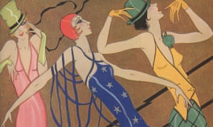 Gordon Conway tried to capture the 'jazz age' in the Fashion Phantasy, published in Tatler, 1928.
