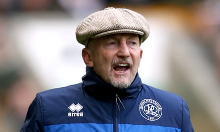 Ian Holloway, pictured on the touchline when he was QPR manager.