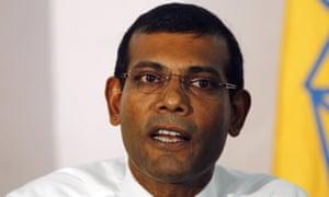 Mohamed Nasheed in 2013