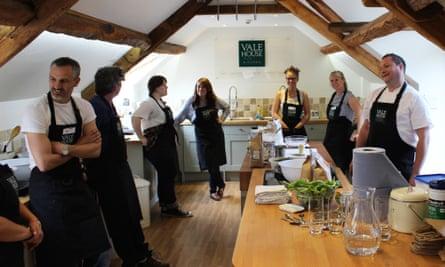 Vale House Kitchen, Bath
