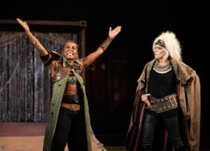 The RSC's recent Troilus and Cressida had a 50:50 gender split cast and starred Adjoah Andoh, left, as Ulysses and Suzanne Bertish as Agamemnon.