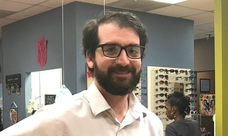 Ben Jacobs with his new glasses.