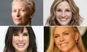 This was a man's world ... actors such as Tilda Swinton, Julia Roberts, , Sandra Bullock and Charlize Theron have all taken on roles initially meant for men.