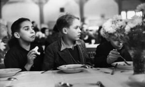Kindertransport children in the dining room of Dovercourt Bay Holiday Camp in Essex in 1938. Why did Britain treat the Calais children so differently?