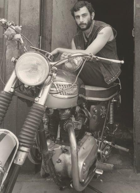 Self-portrait of Danny Lyon, 1967.