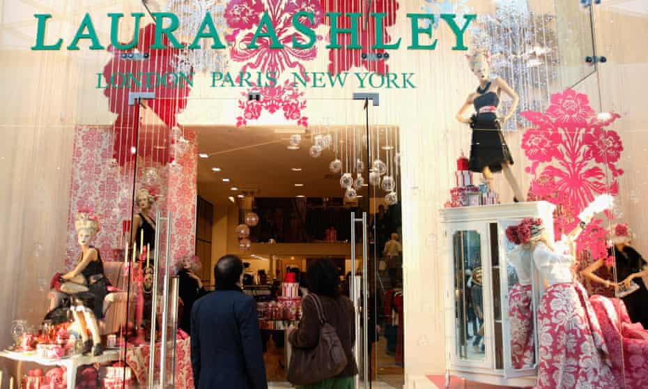 Laura Ashley store in Westfield shopping centre, London.
