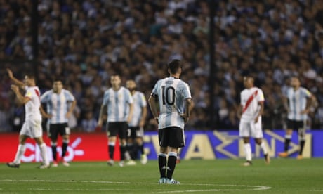 South American roundup: Argentina's World Cup hopes in doubt after draw