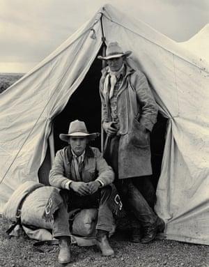 Shawn Biggs and Rick Erington, Spanish Ranch, Nevada, 1983