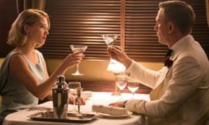 Lea Seydoux and Daniel Craig in Spectre (2015). Seydoux will return alongside Craig in the new film.