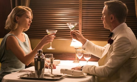 Lea Seydoux and Daniel Craig in Spectre (2015). Seydoux will return alongside Craig in the new film.