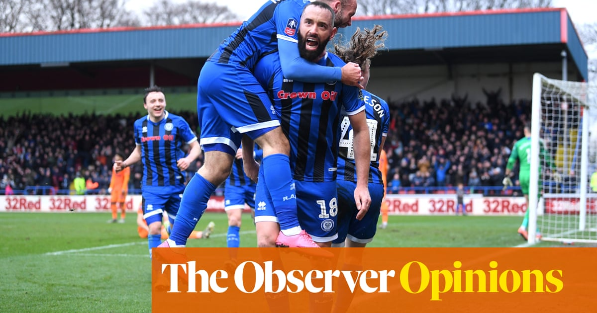 Tranmere and Rochdale's TV snub suggests FA Cup replays have had their day | Paul Wilson