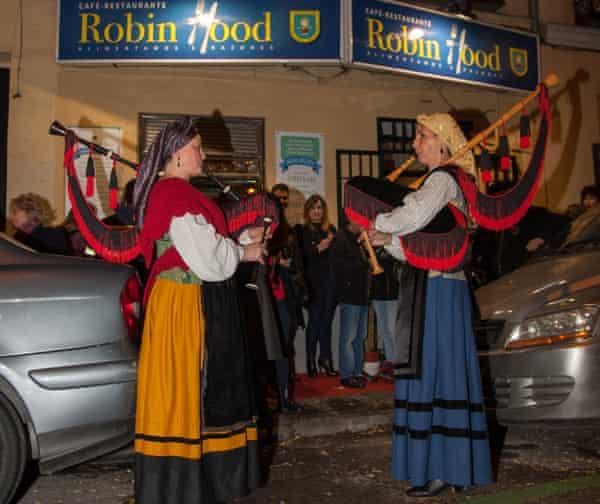 Robin Hood restaurant, Madrid