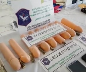 penis cocaine smuggling in Argentina