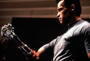 Ageing well … Arnold Schwarzenegger in 1991's Terminator 2: Judgment Day.