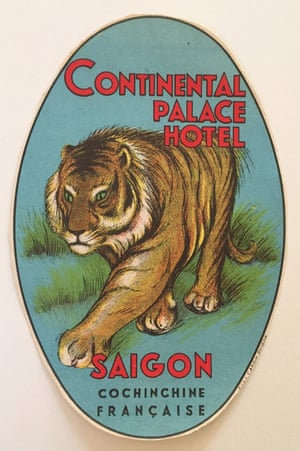 Continental Palace Hotel, Saigon: Now called Hôtel Continental, this building is located in Ho Chi Minh City's business district next to the Saigon Opera House. It was built in 1880 in French colonial style. During the Vietnam War, the media hung out at the hotel, which was featured in The Quiet American novel by Graham Greene, who was a long-term guest. This green-eyed hunter is an Indochinese Tiger, an endangered species since 2008.