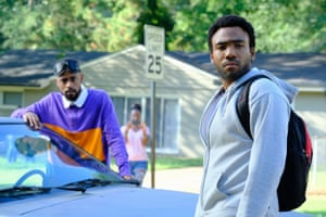 Lakeith Stanfield and Donald Glover in Atlanta