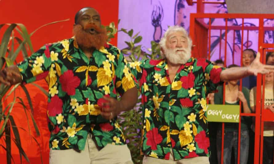 Lenny Henry doing his famous David Bellamy impression with the real David Bellamy on Tiswas Reunited in 2007.
