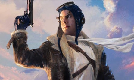 Jetboy from George RR Martin's Wild Cards