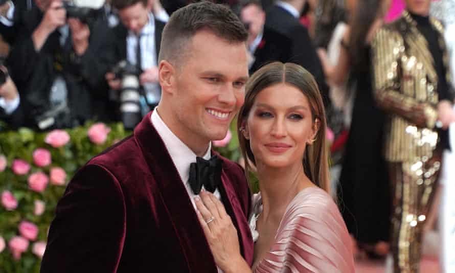 Gisele Bundchen and her husband, Tom Brady, last year.