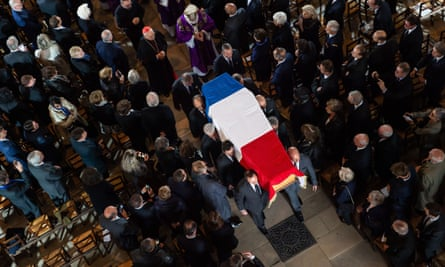 The funeral of former French president, Jacques Chirac