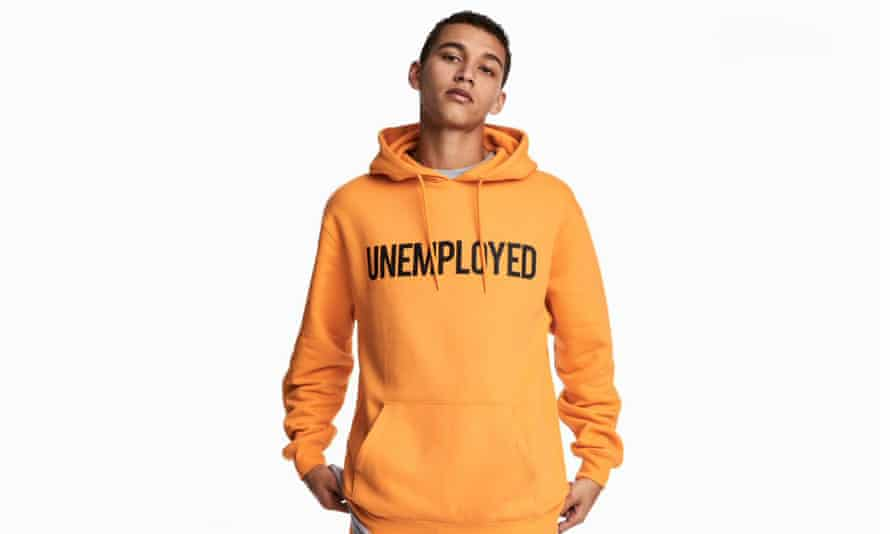 H&M's Unemployed hoodie.