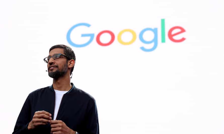 Sundar Pichai, Google CEO, said there is 'an amazing atmosphere' at the company.