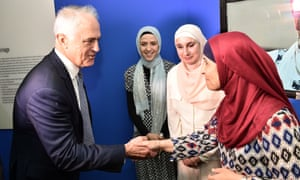 Malcolm Turnbull at Islamic Museum of Australia